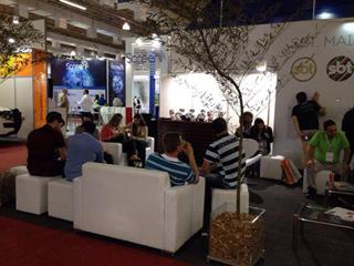 M�dia View em parceria com SBT na SET EXPO 2014