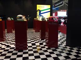 Exposi��o SENNA Na Cabe�a e no Cora��o. Sal�o do Autom�vel 2014.